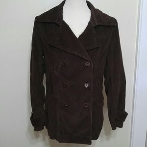 J. Crew zip out liner corduroy coat size medium
